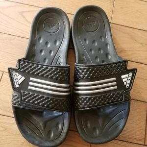 Adidas Slide Flip Sandals Ladies Size 8